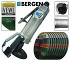 "BERGEN 3"" Air Cut Off Tool 75mm Cutter Grinder Straight Saw & Cutting Discs"