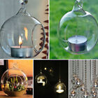 Hanging Hydroponics Glass Vase Candle Holder Wedding Candlestick Terrarium Decor