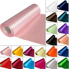 Satin Fabric ROLL 29CM X 20M Table Runners Vell Dress Fabric Craft Wedding