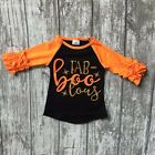 Fab-boo-lous Halloween Raglan Top with Icing Sleeves Sizes 2T 3T 4T 5 6 7 8 Girl