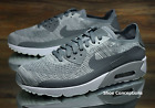 Nike Air Max 90 Ultra 2.0 Flyknit Platinum 875943-003 Mens Shoes Size 9.5, 10.5