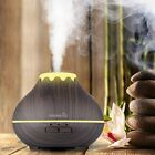 Easehold LED Ultrasonic Humidifier Essential Oil Aroma Diffuser Air Purifier USA