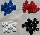 10x Plastic Snap Buttons Poppers Plastic Buttons DIY Clips 12mm