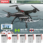 Syma X5SW 2.4Ghz WIFI FPV RC Drone with HD Camera RC Quadcopter + 5 Batteries