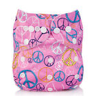 Popular Waterproof Washable Reusable Cloth Baby Pocket Diaper Nappy