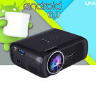 1080P Full HD Home Theater 7000 lumens Android WIFI USB HDMI LED 3D TV Projector