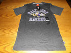 NIKE BALTIMORE RAVENS NFL THROWBACK MENS TEAM APPAREL SHORT SLEEVE SHIRT LARGE $14.5 USD on eBay