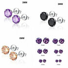 1 pair New Fashion Cute Ladies Girls Rhinestone Ear Stud Earrings Jewelry Gift