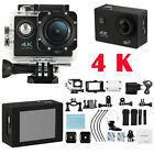 4K Ultra HD Action Camera Pro Sports Cam Wifi DV 12MP 1080P Waterproof Video Cam