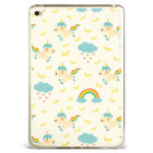 Cartoon Unicorn Rainbow Tiny Stars Silicone Case Cover For Samsung iPad DJS2-8