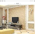 Modern Embossed Environmental Non-woven Living Room  TV Background Wallpaper5.3㎡