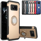 for Samsung Galaxy S7 Edge Case 360 Rotating Ring PC + TPU Stand Magnetic Cover