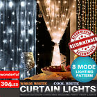 100M/3*3M 304 LED Christmas Tree Fairy String Party Lights Lamp Xmas Waterproof