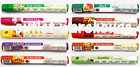Genuine Rishta Incense Sticks Joss Agarbatti New Many Scents Organic 20 Sticks