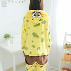 SpongeBob  Xmas Kids Adult Animal Hoody Pajamas Onesie1 Unisex Cosplay Costume