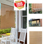 Indoor Outdoor Bamboo Window Blinds Sun Shade Vertical 36 48 72 Roll Up Patio