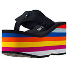Rocket Dog Bigtop Webbing Wedge Womens Multi-Colour Walking Sandals New Style