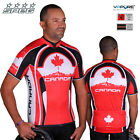 SPEG Canada Canadian Mens Short Sleeve Cycling Jersey Full Zipper