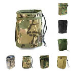 Mens Outdoor Hiking  Military Belt Paintball Magazine Dump Ammo Pouch Drop Bag
