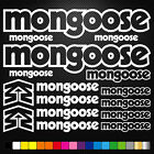 Mongoose Vinyl Decals Stickers Sheet Bike Frame Cycle Cycling Bicycle Mtb Road