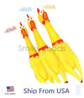 Fun Pet Dogs Puppy Shrilling Rubber Chicken Chew Sound Squeeze Screaming Toy USA