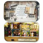 Cuteroom Old Times Trilogy DIY Box Theatre Doll House Tin Box With LED Xmas Gift