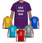 Kyпить Custom T-Shirt with Your Photo | Text | Logo | Cheap Custom T-shirts | Printing на еВаy.соm