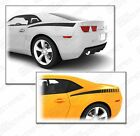 Chevrolet Camaro Rear Quarter Side Accent Stripes Decals 2014 2015 Pro Motor