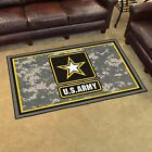 4' X 6' INDOOR RUG - CHOOSE YOUR FAVORITE MILITARY BRANCH!
