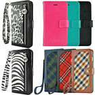 Luxury Leather Card Wallet Flip Case Cover for Apple iPhone 7 / iPhone 7 Plus