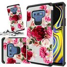 Galaxy J3 Emerge / Galaxy J3 Prime Case 2017 Rubber Sturdy Wallet Cover