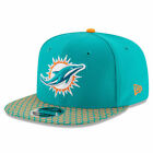 New Era 9FIFTY NFL Miami Dolphins Sideline On Field Snapback Hat Adjustable Cap