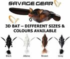 Savage Gear 3D Bat Lure ALL VARIETIES Fishing tackle