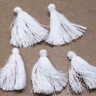 10 Mini Silky Cotton Tassels Crafts Sewing & Jewellery Making 10 Colours - 30mm