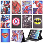 Super Hero Cartoon Kids Leather Case Cover For Ipad 2/3/4/5/6/7/8 Air Mini Pro