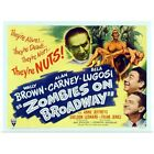 Poster Print Wall Art entitled Zombies on Broadway - Vint...