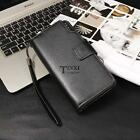 New Fashion Men Casual Synthetic Leather Wallet Card Holder Money Clip TXSU