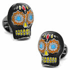 Ox and Bull Trading Co. Day of the Dead Skull Cufflinks