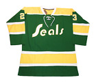 California Golden Seals Jersey Oakland Customized Hockey NHL