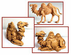 Vintahe Fontanini Camel Figurines Made of Resin For Nativity or Creche Set