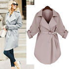 Women's Autumn New Long Coat Jacket Overcoat Outwear Ladies Elegant Long Sleeve