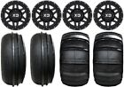 "KMC XS128 Machete 14"" UTV Wheels 28"" Sand Stripper/HP Tires Can-Am Defender"