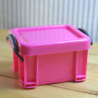 Lock Storage Pill Box With Lid Coin Storage Case Jewelry Container Organizer