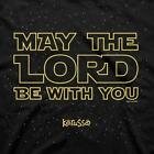 Kerusso May the Lord be with You Star Wars Christian T-Shirt | FREE Shipping