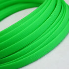 3-40mm Fluorescent Green Braided Cable Sleeving/Sheathing/Auto Harnessing TS