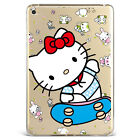 Cute Hello Kitty Animals Print Soft Silicone Case Cover For Samsung Ipad F01kt38
