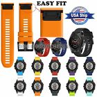 Quick Lock Silicone Replacement Band Sport Wriststrap For Garmin Fenix 5X Watch
