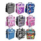 NEW SACHI LUNCH TOTE Insulated Bag School Warm Cold Handle 9 DESIGNS