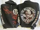 The Walking Dead Security Hoodie Sweatshirt AMC Zombie TV Show New Medium Only 6