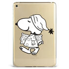 Cartoon Cute Snoopy Lovely Dog Silicone Case Cover For Samsung iPad C195-009